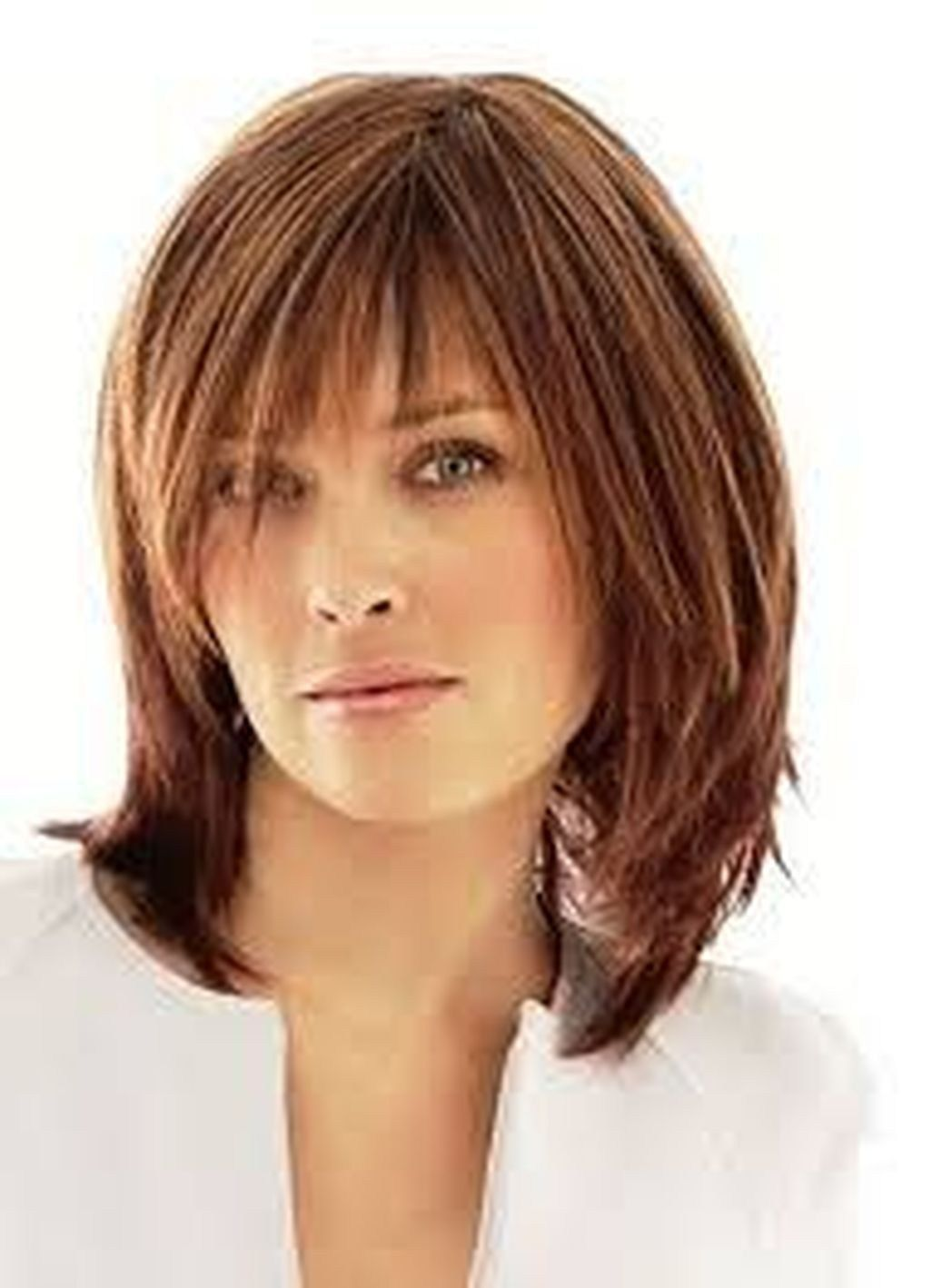 cool shoulder length hairstyles for women over 50 39