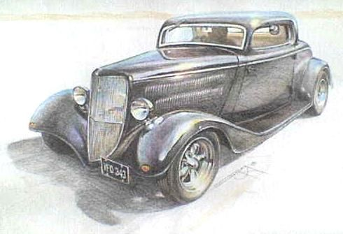 Simple pencil drawings of cars google search