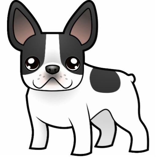 39 Awesome Cartoon French Bulldogs Images Sketch It Pinterest