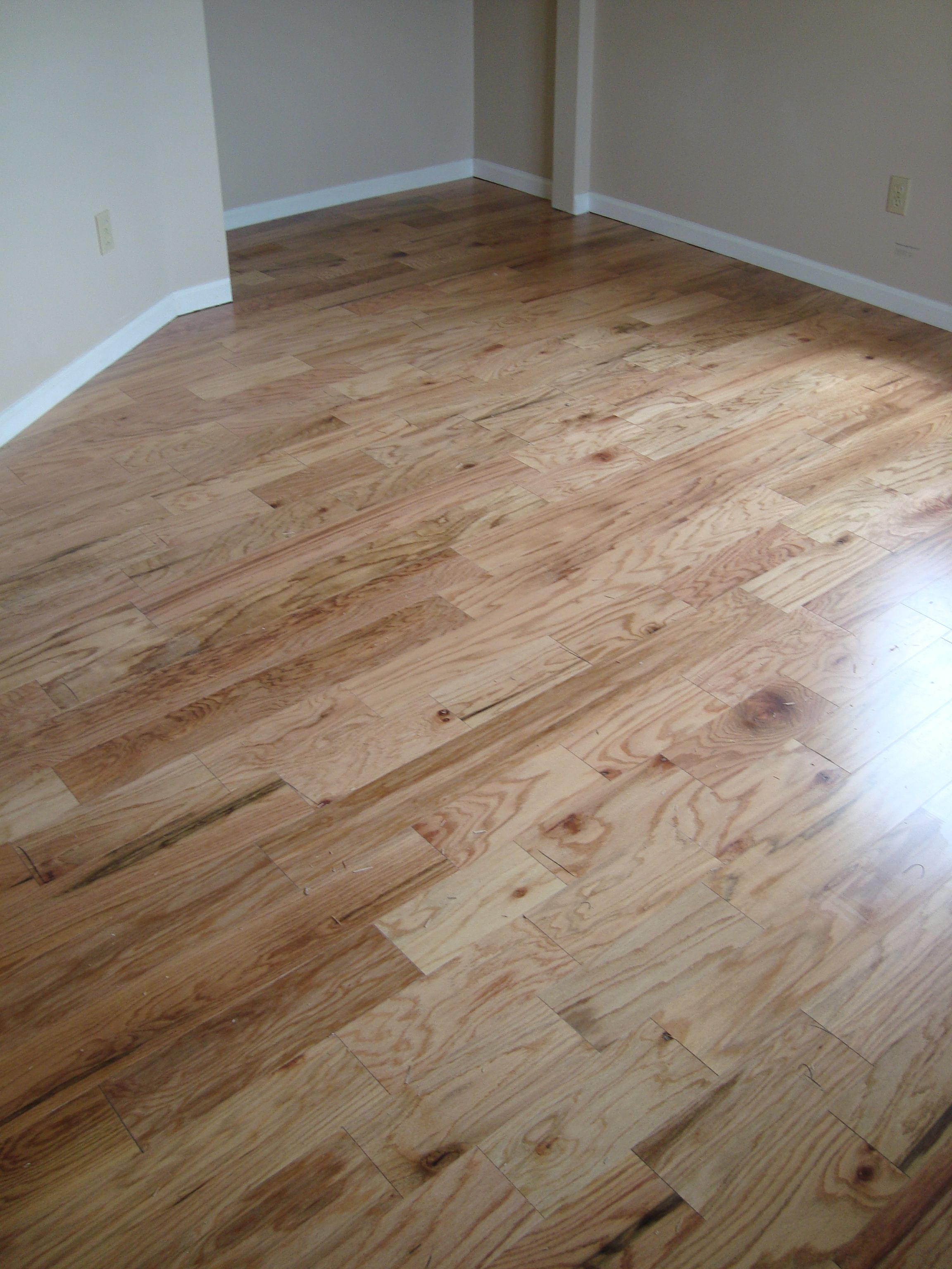 Beautiful Goth Bedrooms With Wood Floor: A Beautiful Rustic Natural Red Oak By Mohawk Hardwoods