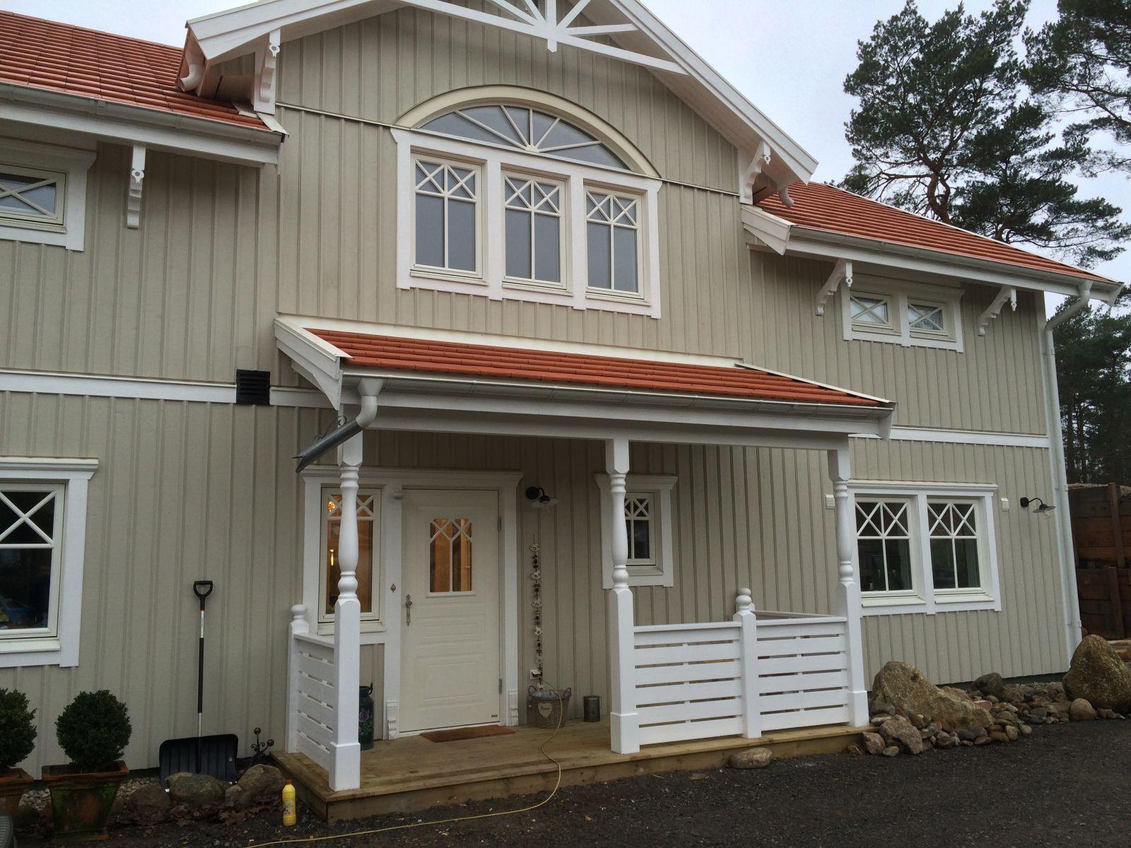 Schwedenhaus Klassikhaus 4 Aussenansicht Eingang #hausdekoeingangsbereichaussen