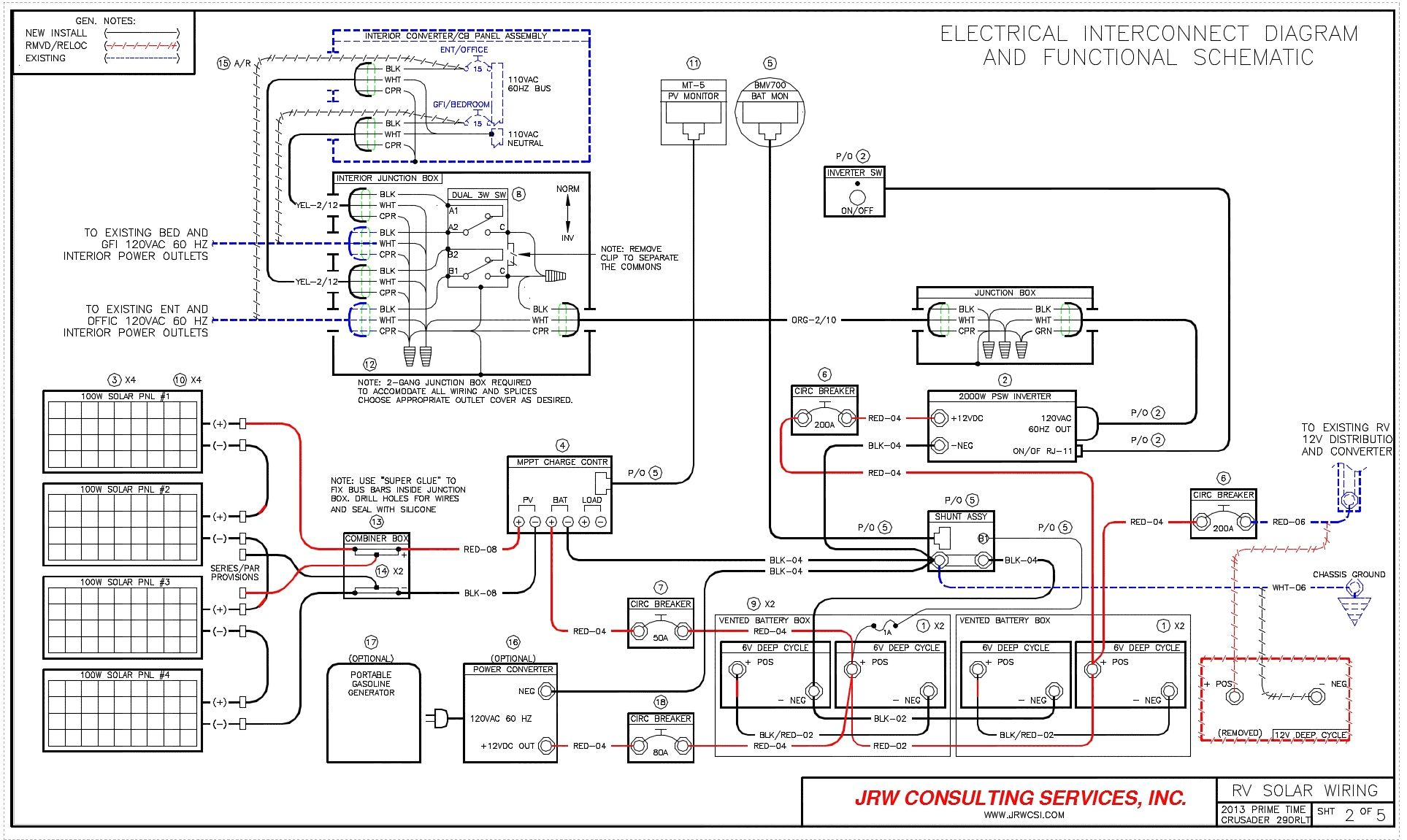 Rv Inverter Installation Diagram