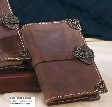 bortoletti leather journal book cover insert from florentine