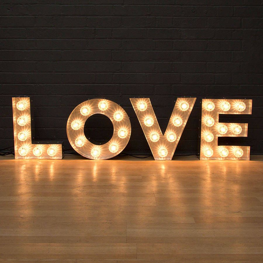 1000 images about letter lights on pinterest on the high street light letters and diy marquee letters
