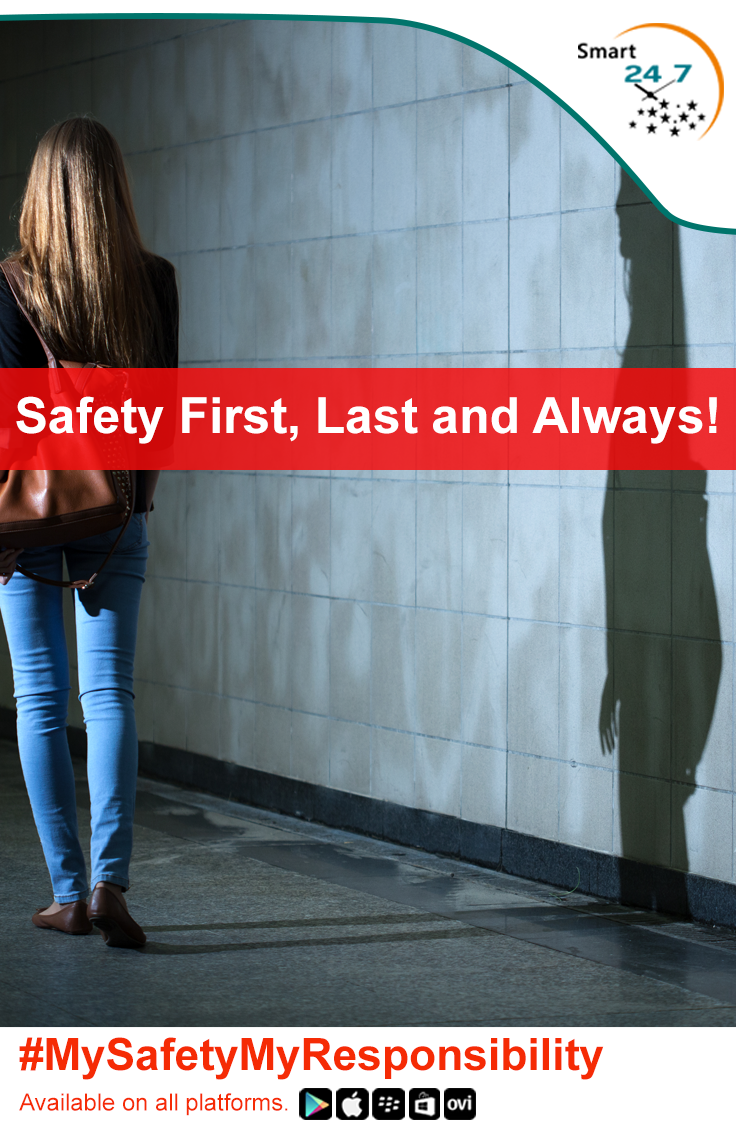 Smart24x7 Personal Safety App allows smart phone users