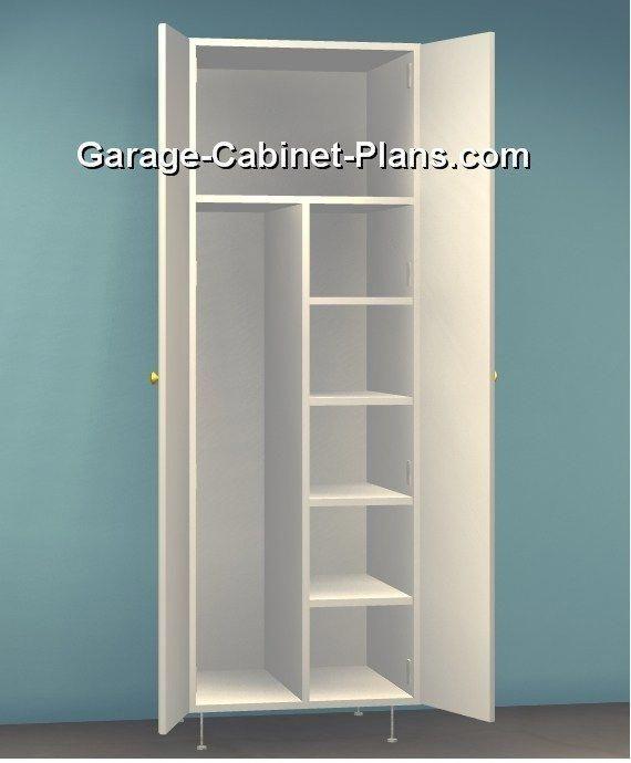 Plywood Garage Cabinet Plans: Corner Closet Organizer Diy #closetorganizerplansgarage