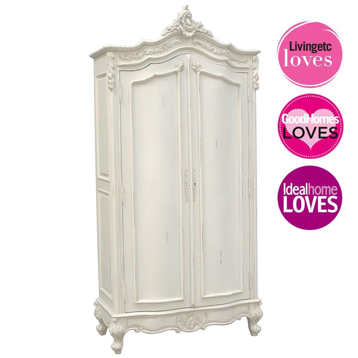 Provencal Classic White Armoire