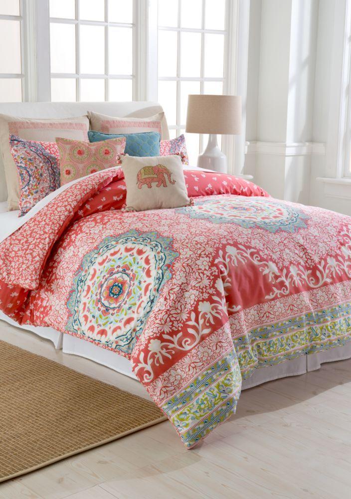 Jessica Simpson Amrita Medallion Mini Comforter Set Comforter