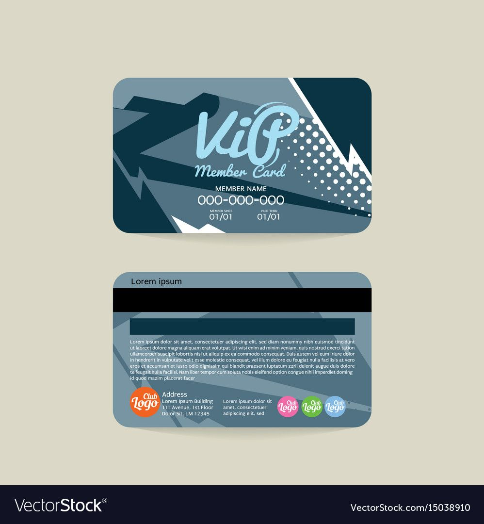 The Outstanding Front And Back Vip Member Card Template Inside Membership Card Template Free Photo Below Is Ot Member Card Membership Card Card Templates Free