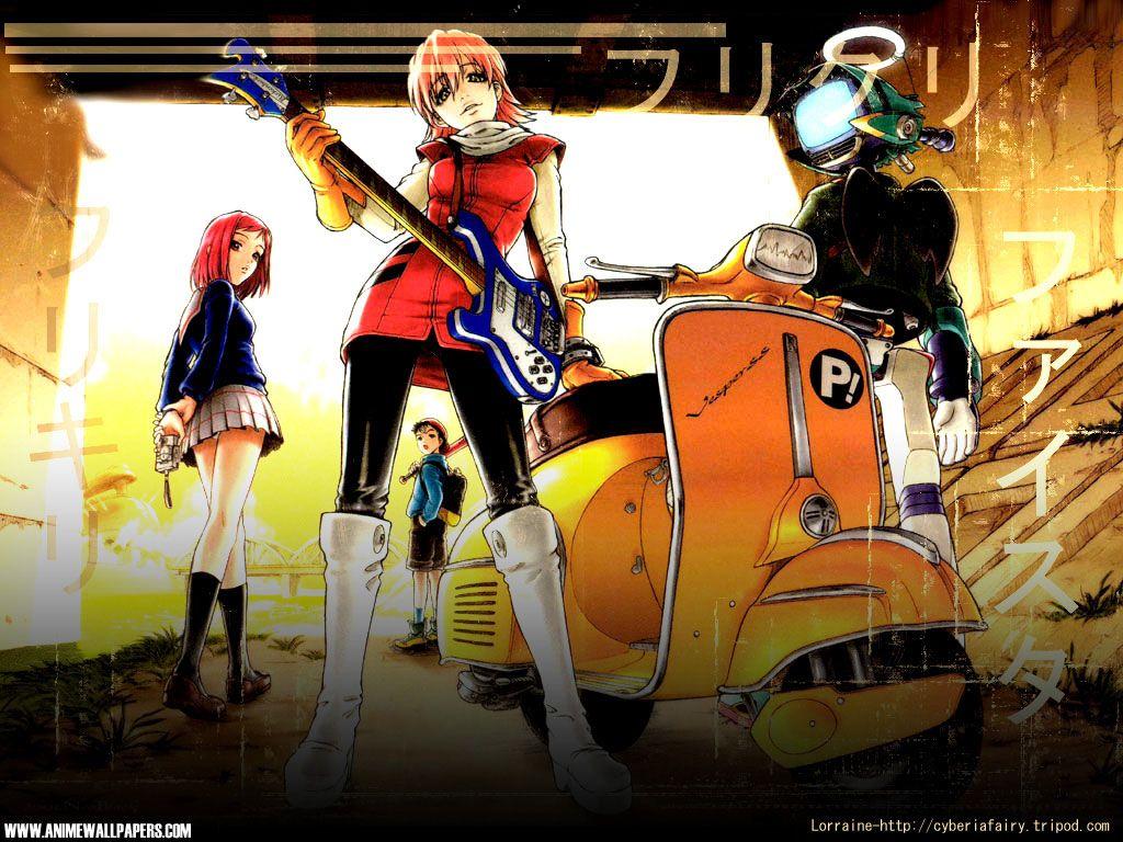 FLCL Wallpaper 2 (Anime in 2020 Flcl