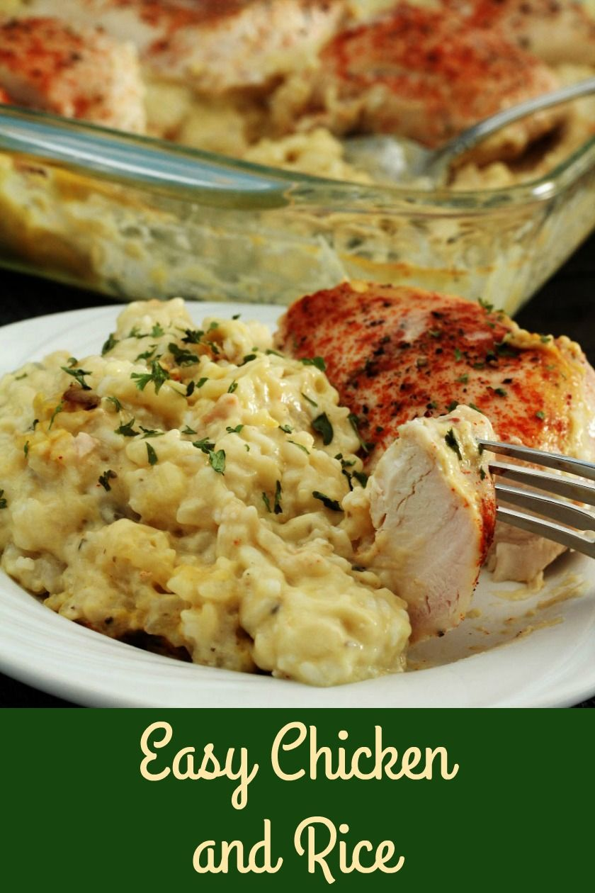 Easy Chicken and Rice images