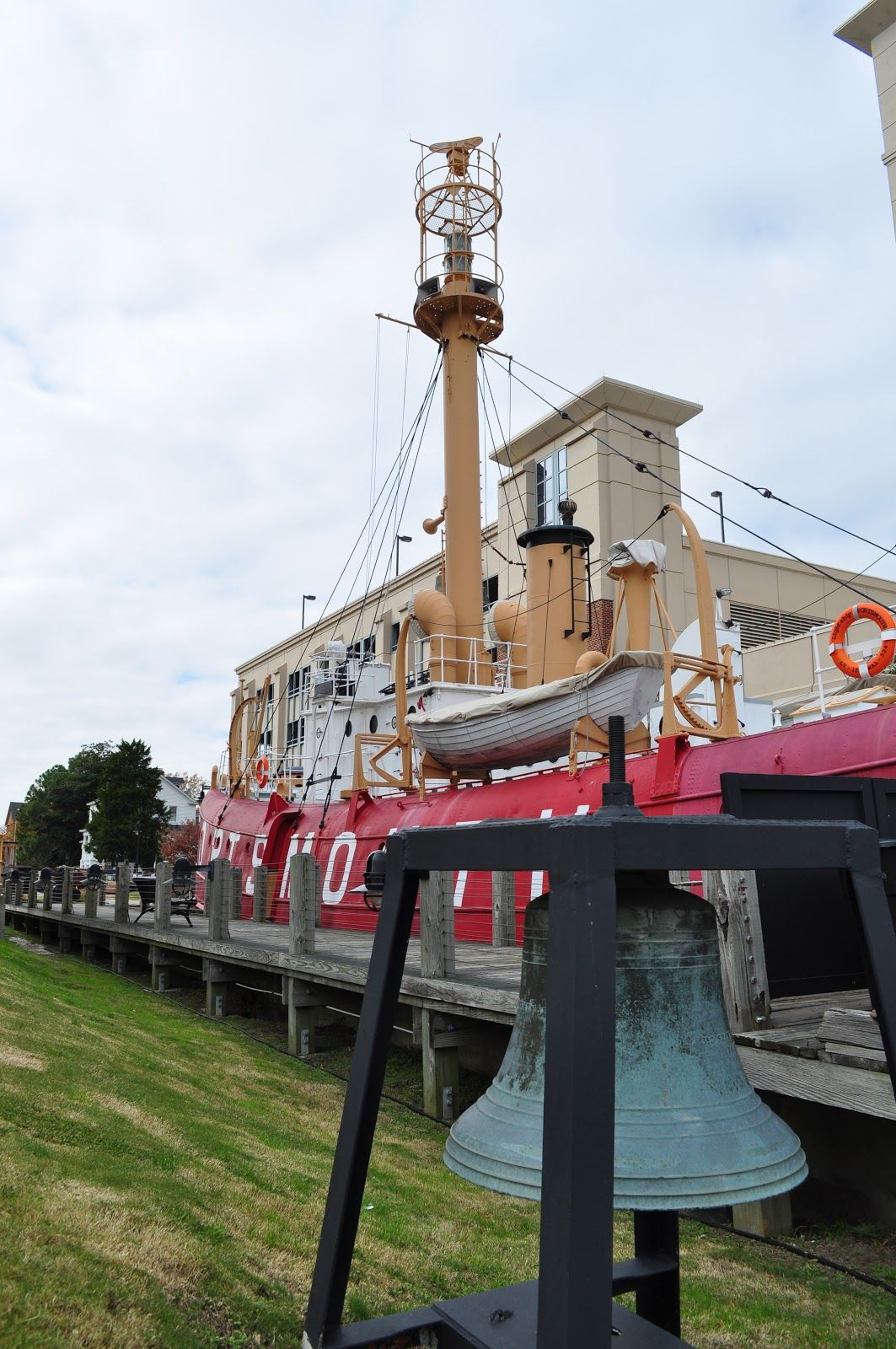 Maine Lighthouses And Beyond: The Lightship Portsmouth In