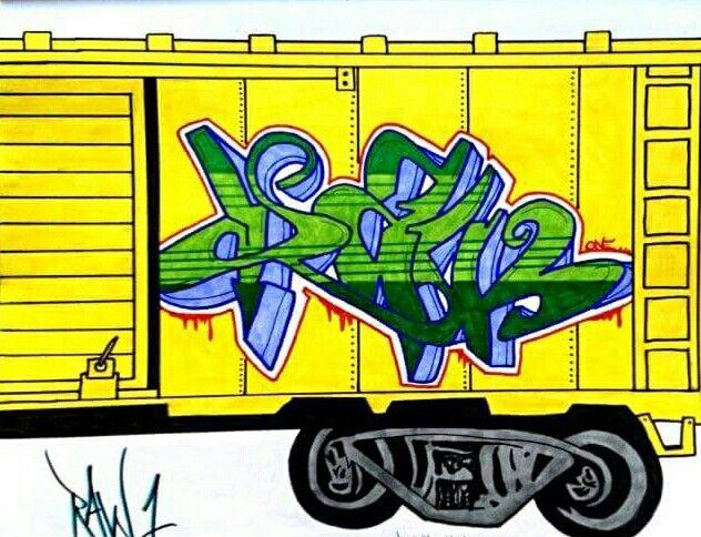Graffiti Rawthentik Designs blackbook