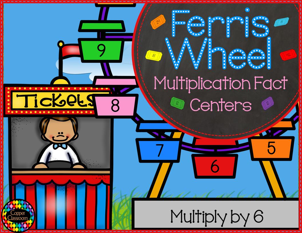 3 Oa 1 Ferris Wheel Multiplication Fact Centers