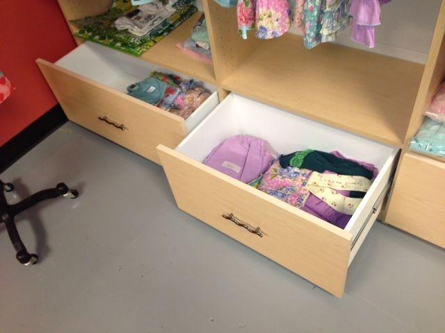 Beautiful New Storage At Matilda Jane Clothing!