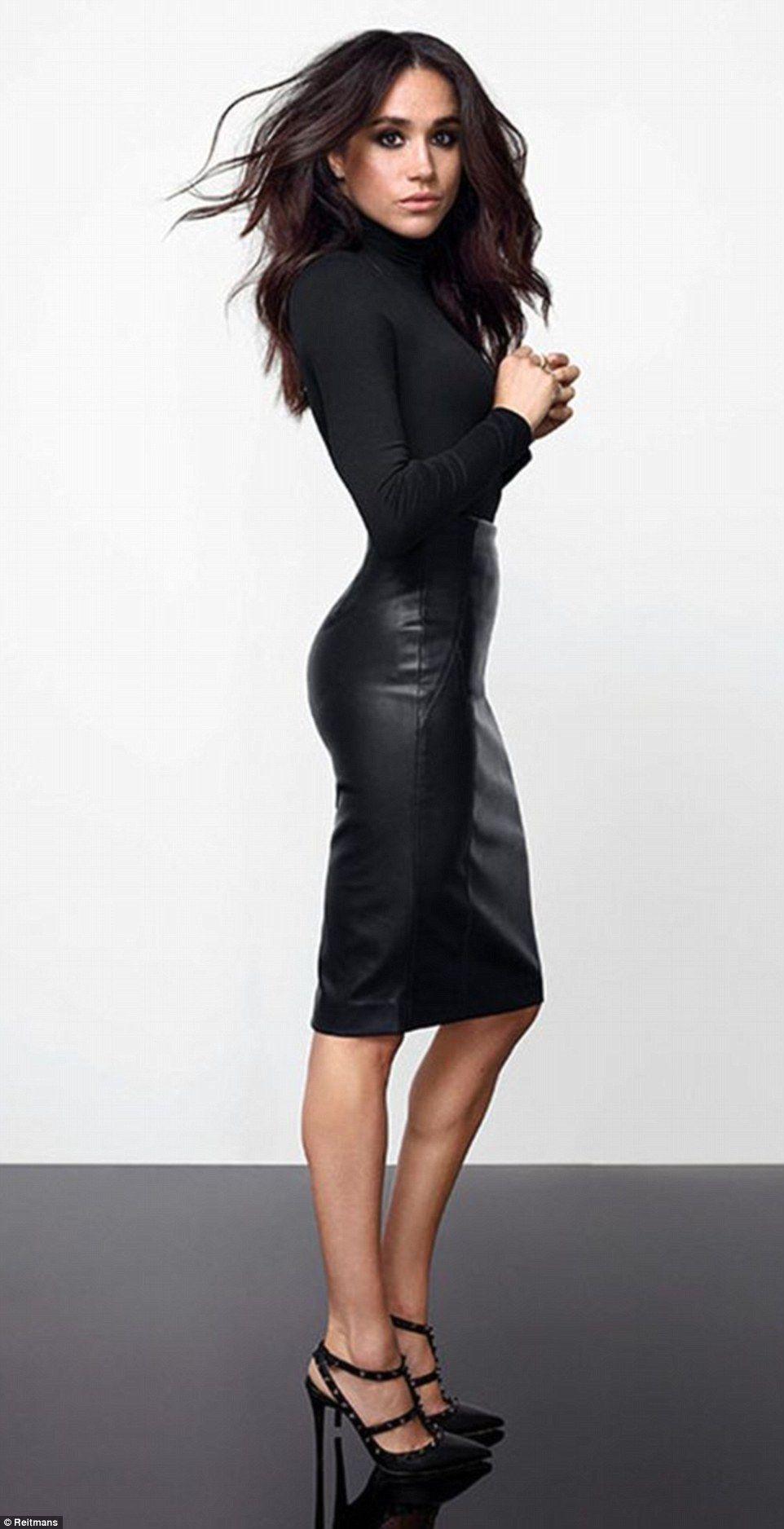 Meghan Markle showcases her INCREDIBLE figure