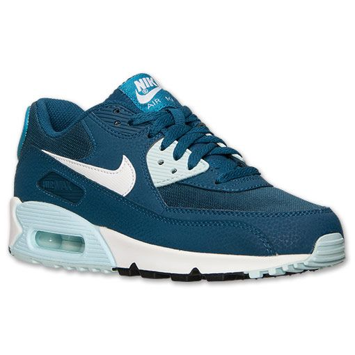 nike air max 90 blue force/white