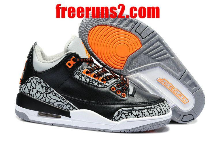 e319ca9b4aa ... aliexpress ink white team orange air jordan 3 kids triple black low grey  kids jordans 2013