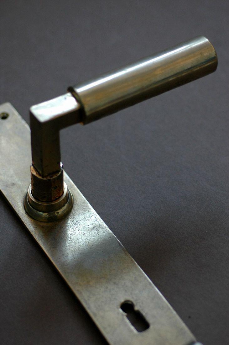 door handles designed by bauhaus founder walter gropius with