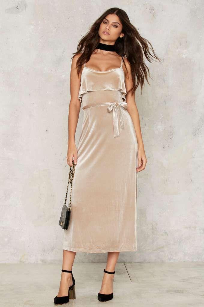 Glamorous Ravi Velvet Dress