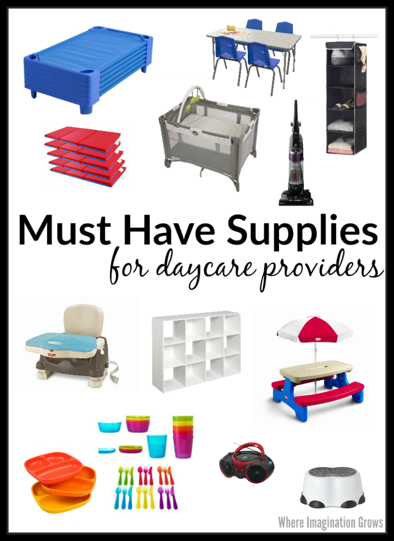 Must Have Supplies for Daycare Providers images