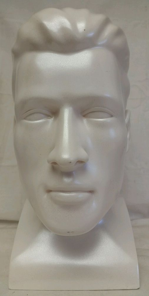 """Vintage Medical """"Respironics"""" CPAP Store Advertising Mannequin Display Head NOS #Respironics"""