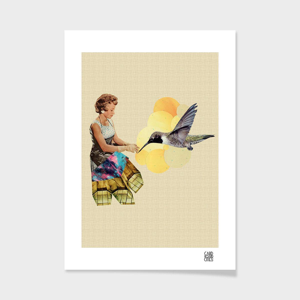 eu.Fab.com | Druck Feed The Bird 40x50