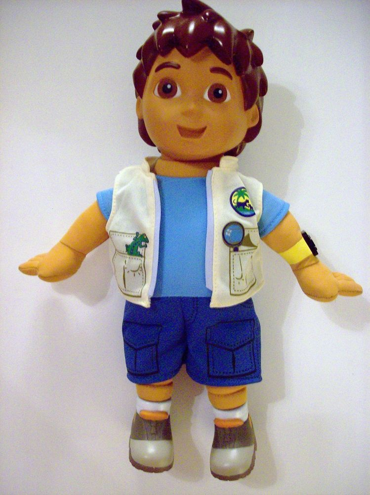 Go Diego Go Fisher Price 13 Quot Talking Doll Bilingual