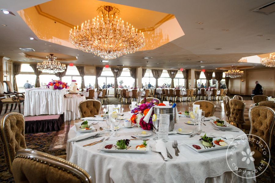 Wedding Ballroom Decor At The Surf Club In New Rochelle