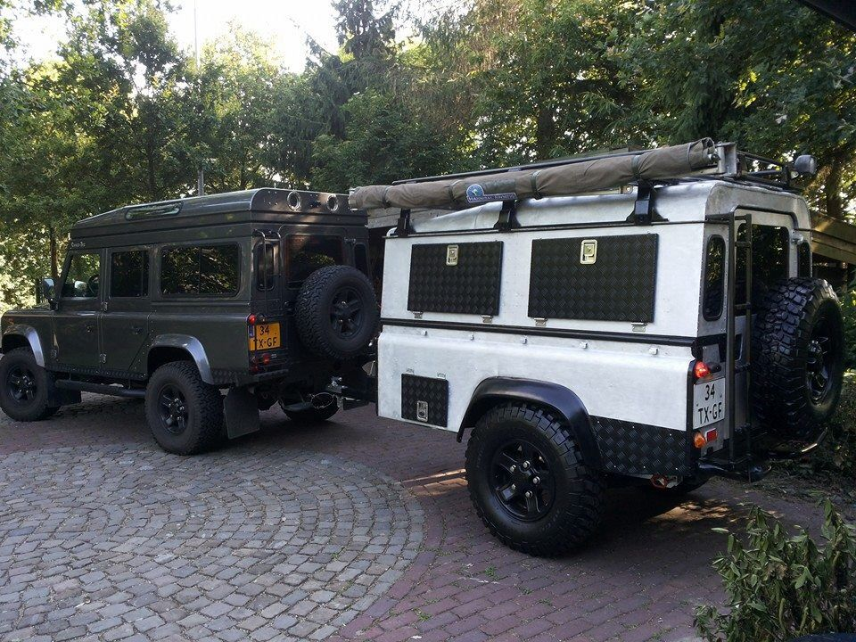 Would Love A Defender And Trailer ランドローバー