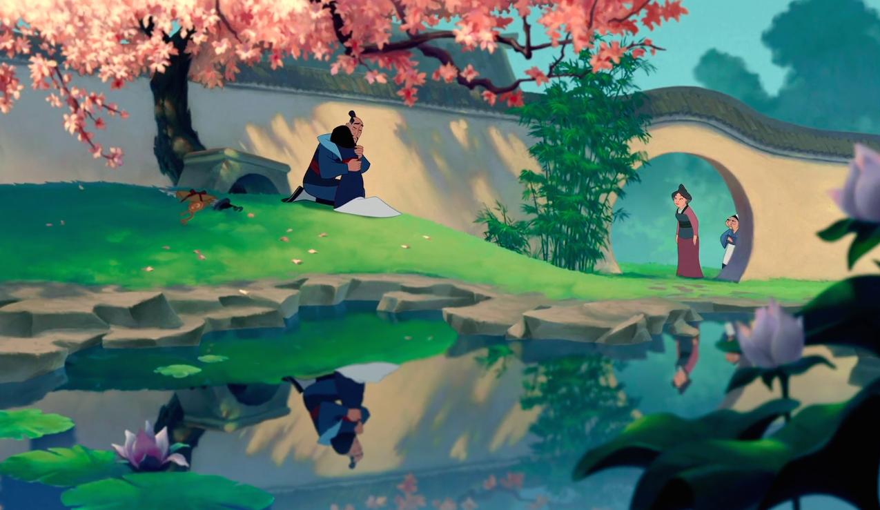 Disney Classics, Characters, Mulan, Cri-Kee, Fa Mulan, Li