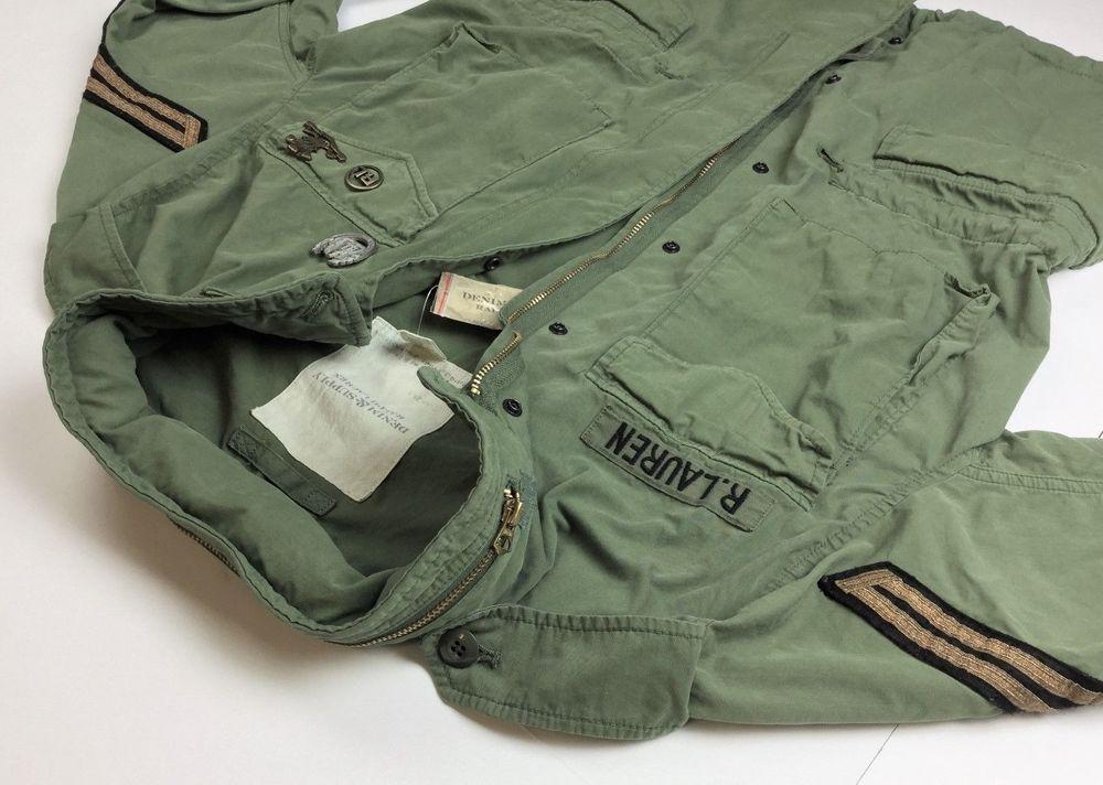 d2c380646ffd2 Denim & Supply Ralph Lauren Men Military Army Officer Field Jacket M  #DenimSupplyRalphLauren #Military