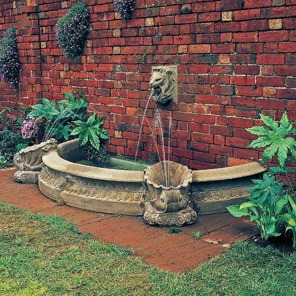 Garten Brunnen Umrandung Sandstein In 2020 Sandstein Japanischer Steingarten Steingarten Anlegen