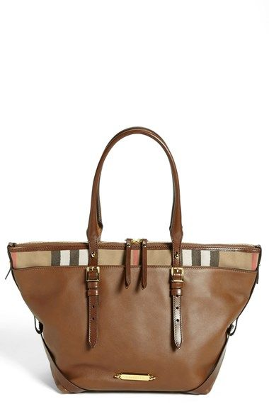 Burberry Small Salisbury Leather Over Shoulder Tote Available At Nordstrom