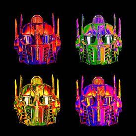Optimus Prime Canvas pop art canvas print $75