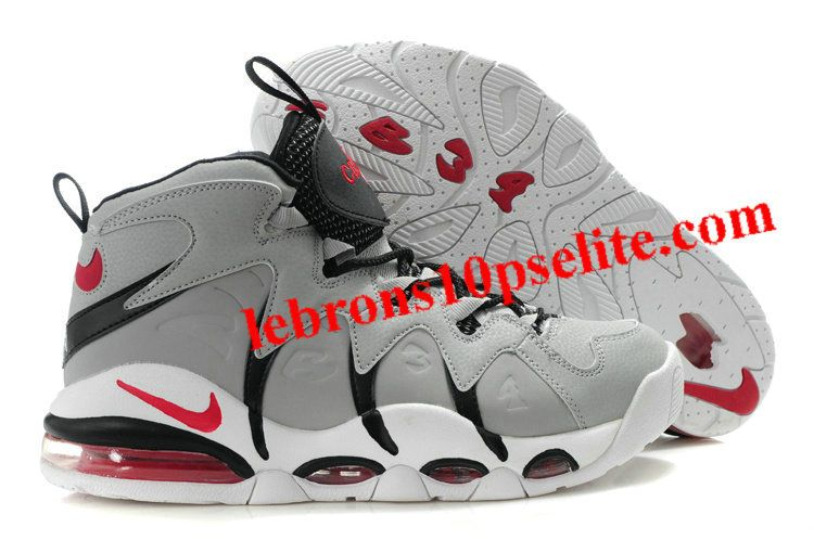 the latest 564b3 25927 Charles Barkley Shoes - Nike Air Max CB34 Gray Black