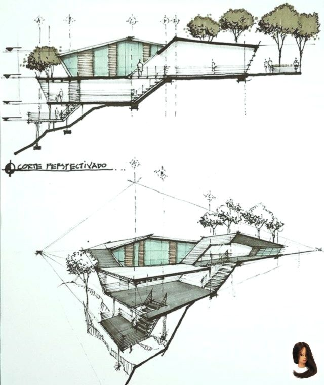 Schönes Design von Arlene Lachapelle.arch #architektonischepräsentation