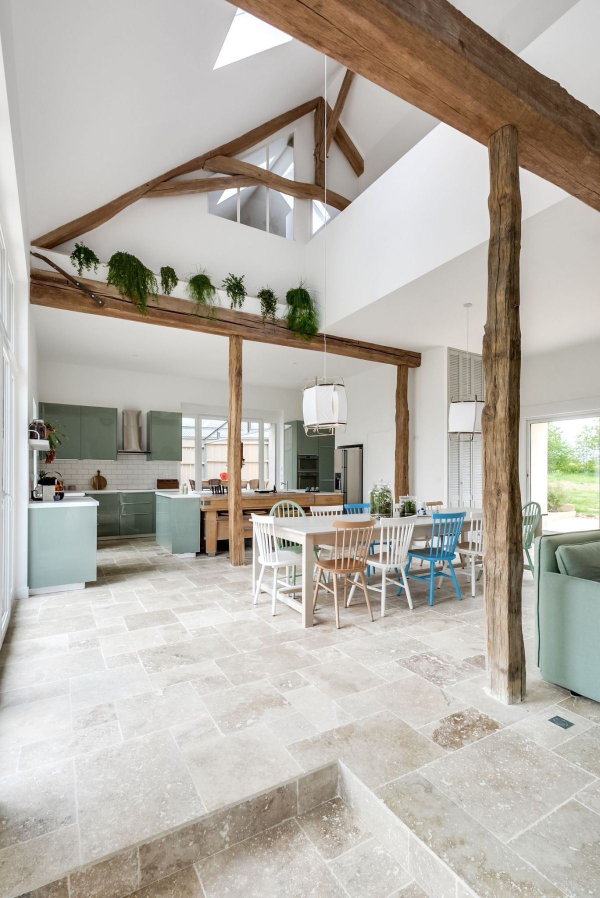 Une long re r nov e dans l 39 yonne maison mer long re r nov e r novation maison et d co - Renovation maison de campagne ...