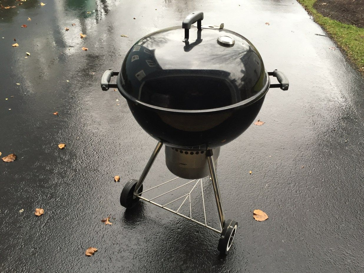 Weber Holzkohlegrill One Touch : Performer smokey mountain and the old trusty one touch silver