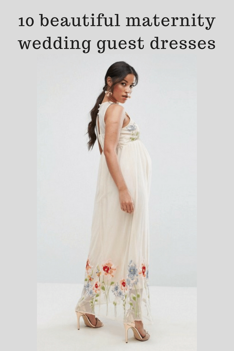 284c1e7324e56 Feel drop dead gorgeous this wedding season, as a pregnant wedding guest,  with one of these stunning maternity dresses that won't break the bank. Find  the ...