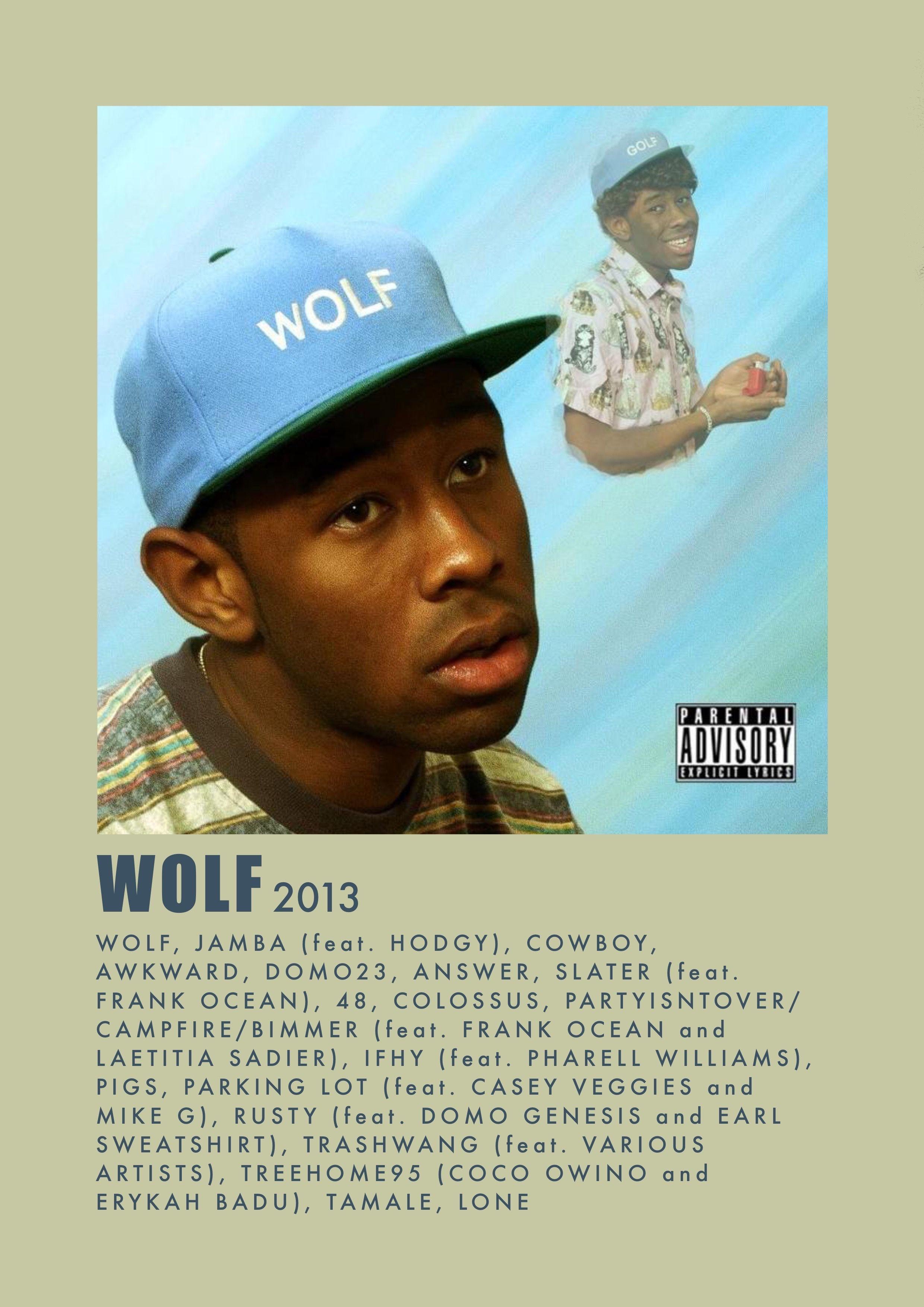 Wolf Album Cover Music Poster Ideas Custom Album Covers Music Poster Design