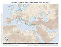 Mediterranean Political   Ancient World Mapping Center   Maps ...