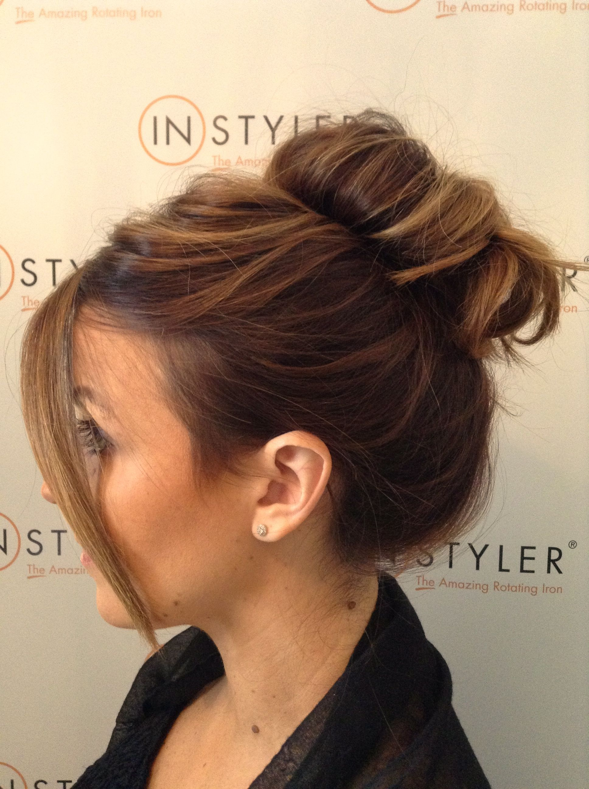 Messy top knot zolotov distributors ltd u distributors of instyler