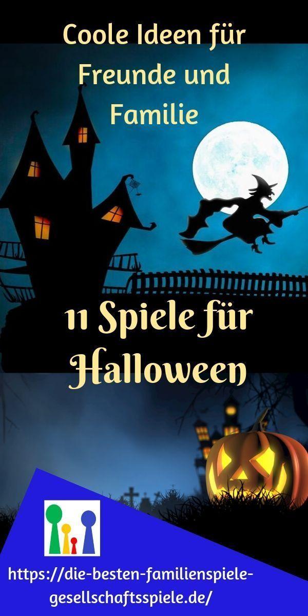 Halloween Spiele – 11 coole & gruselige Ideen für Freunde und Familie