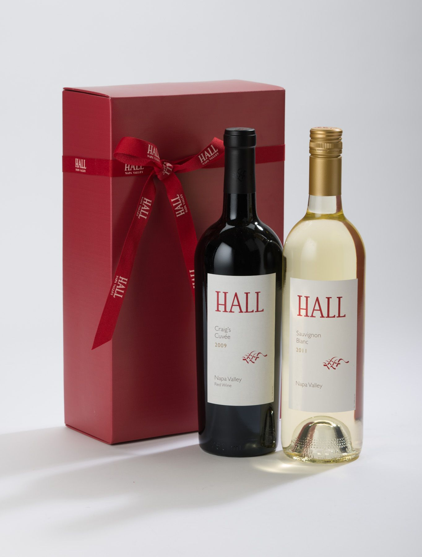 A Red White Party 2 Bottle Gift Set Includes 2009 Hall Craig S Cuvee And 2011 Napa Valley Sauvignon Blanc 60 Bottle Gift Sauvignon Blanc Wine Making