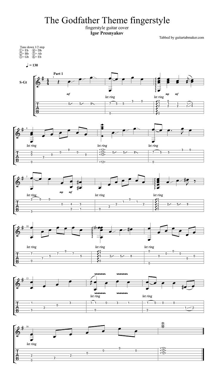 J.S.Bach - Classic Guitar Tab.pdf - Scribd