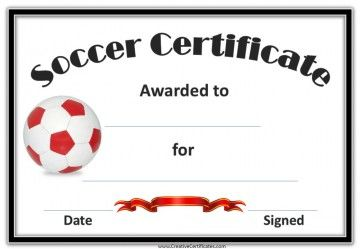 graphic relating to Printable Soccer Certificates known as Absolutely free Printable Football Award Certificates Football Awards