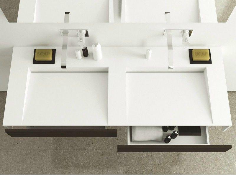 Badezimmer doppelwaschbecken ~ Waschbecken moderne badezimmer doppelwaschbecken momadesgin slim