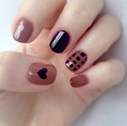 nails short design valentines day 23 best ideas  heart