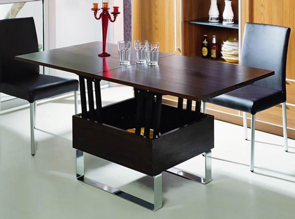 Coffee Table That Converts To Dining Ikea Collection Awesome Brown Rectangle Modern Woo